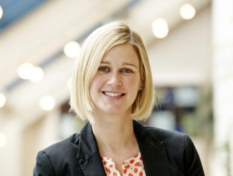 Portrait of Covenant House Toronto Development Manager, Corporate Relations Sarah Boye