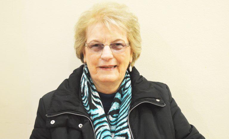 White Dove society member Adele Archer