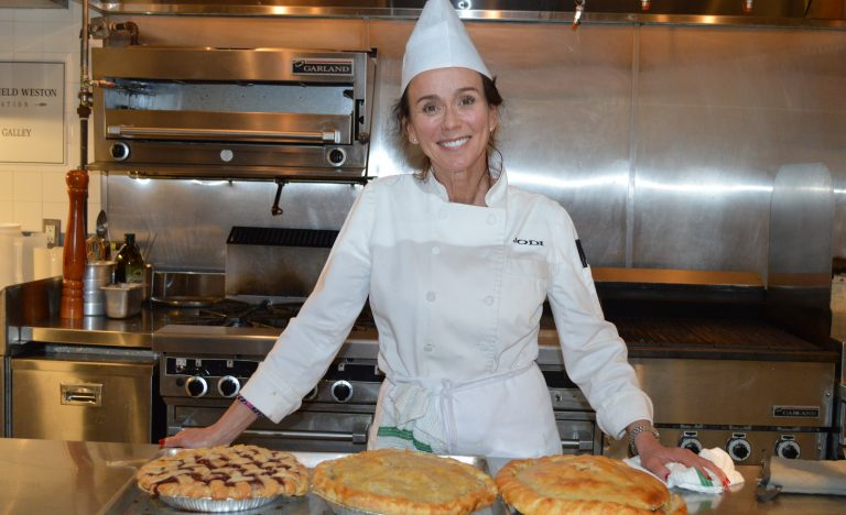 Cooking for Life volunteer, Jodi
