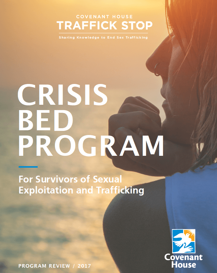 Cover of our Crisis Bed Program Review document