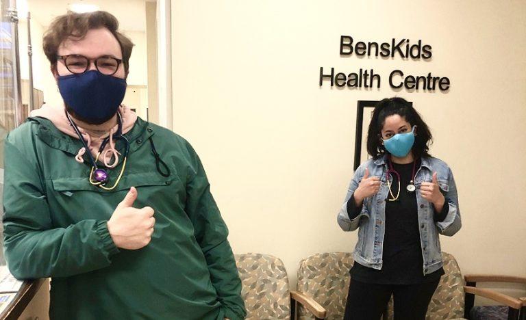 Nurses at our BensKids Health Centre